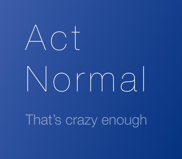 Doe normaal